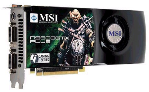 GeForce 9800 GTX+ от MSI
